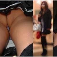 【盗撮パンチラ画像】可愛い子のガチスカート逆さ撮り有。ギャルキャバ嬢からOLさんまで全身顔出しwwwwwww