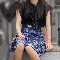 【足フェチな画像】街で見かけた美脚のお姉様をひたすら連射撮り!そのパンティストッキング売ってくれwwwwwww